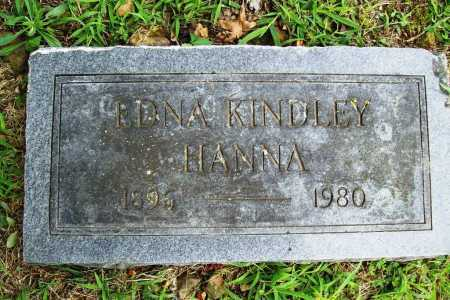KINDLEY HANNA, EDNA - Benton County, Arkansas | EDNA KINDLEY HANNA - Arkansas Gravestone Photos