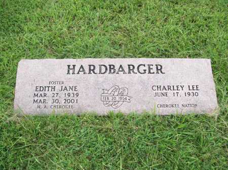 HARDBARGER, EDITH JANE - Benton County, Arkansas | EDITH JANE HARDBARGER - Arkansas Gravestone Photos