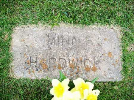 HARDWICK, MINNIE - Benton County, Arkansas | MINNIE HARDWICK - Arkansas Gravestone Photos