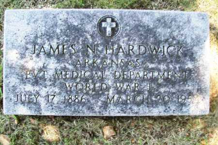 HARDWICK (VETERAN WWI), JAMES N. - Benton County, Arkansas | JAMES N. HARDWICK (VETERAN WWI) - Arkansas Gravestone Photos