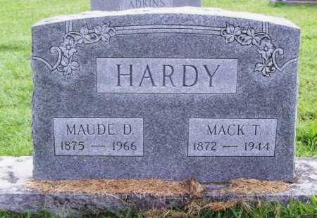 HARDY, MACK T. - Benton County, Arkansas | MACK T. HARDY - Arkansas Gravestone Photos