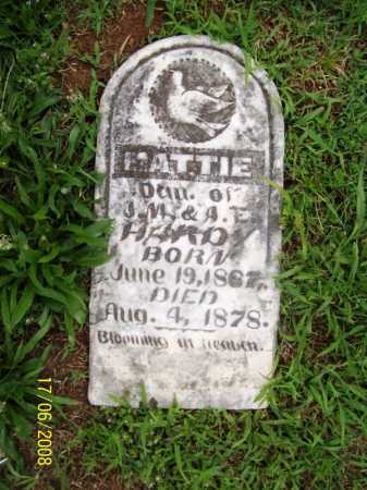 HARDY, MATTIE - Benton County, Arkansas | MATTIE HARDY - Arkansas Gravestone Photos
