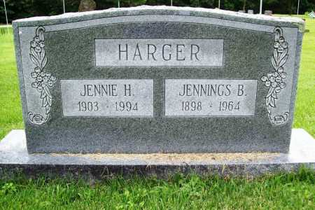 HARGER, JENNIE H. - Benton County, Arkansas | JENNIE H. HARGER - Arkansas Gravestone Photos