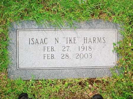 "HARMS, ISAAC N. ""IKE"" - Benton County, Arkansas | ISAAC N. ""IKE"" HARMS - Arkansas Gravestone Photos"