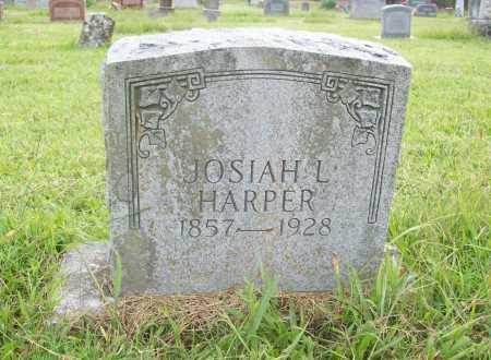 HARPER, JOSIAH L. - Benton County, Arkansas | JOSIAH L. HARPER - Arkansas Gravestone Photos