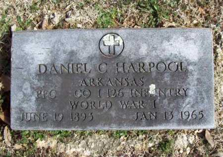 HARPOOL (VETERAN WWI), DANIEL C - Benton County, Arkansas | DANIEL C HARPOOL (VETERAN WWI) - Arkansas Gravestone Photos