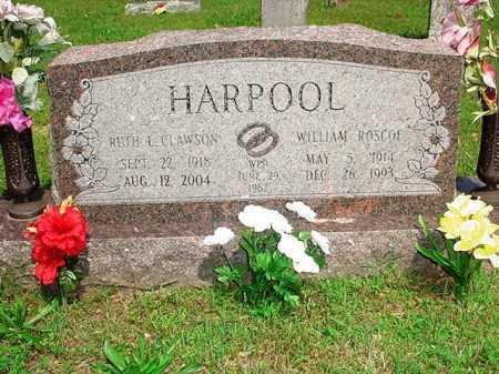 HARPOOL, WILLIAM ROSCOE - Benton County, Arkansas | WILLIAM ROSCOE HARPOOL - Arkansas Gravestone Photos