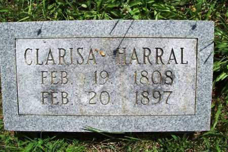 HARRAL, CLARISA - Benton County, Arkansas | CLARISA HARRAL - Arkansas Gravestone Photos