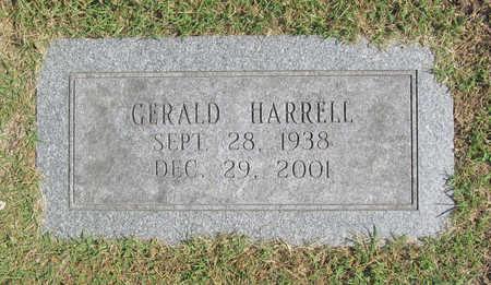 HARRELL, GERALD - Benton County, Arkansas | GERALD HARRELL - Arkansas Gravestone Photos