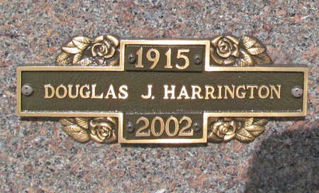 HARRINGTON (VETERAN WWII), DOUGLAS J - Benton County, Arkansas | DOUGLAS J HARRINGTON (VETERAN WWII) - Arkansas Gravestone Photos