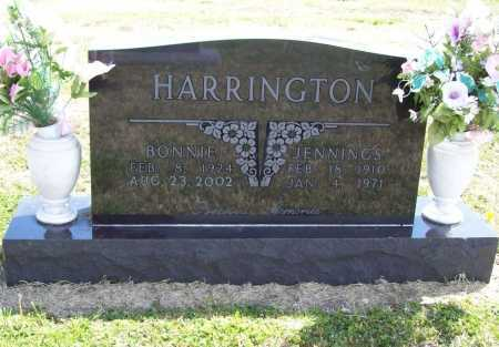 HARRINGTON, JENNINGS - Benton County, Arkansas | JENNINGS HARRINGTON - Arkansas Gravestone Photos