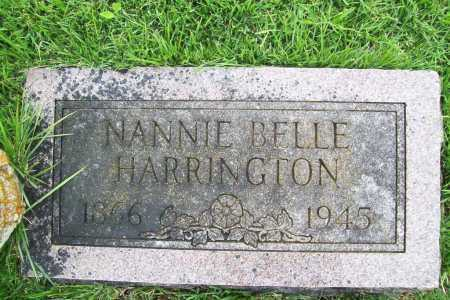 HARRINGTON, NANNIE BELLE - Benton County, Arkansas | NANNIE BELLE HARRINGTON - Arkansas Gravestone Photos