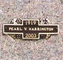 HARRINGTON, PEARL V. - Benton County, Arkansas | PEARL V. HARRINGTON - Arkansas Gravestone Photos
