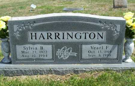 HARRINGTON, SYLVIA B. - Benton County, Arkansas | SYLVIA B. HARRINGTON - Arkansas Gravestone Photos