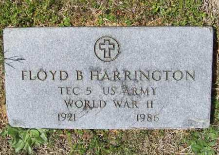 HARRINGTON (VETERAN WWII), FLOYD B - Benton County, Arkansas | FLOYD B HARRINGTON (VETERAN WWII) - Arkansas Gravestone Photos