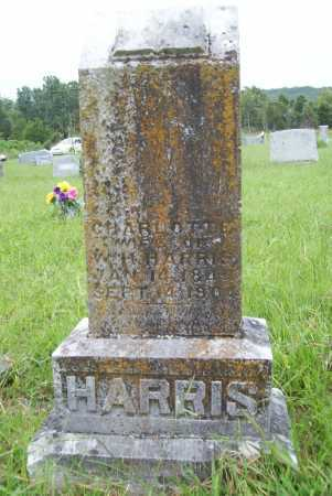 HARRIS, CHARLOTTE - Benton County, Arkansas | CHARLOTTE HARRIS - Arkansas Gravestone Photos