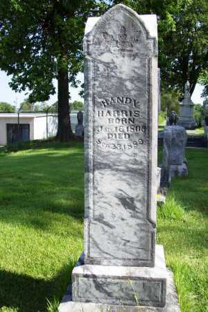 HARRIS, HANDY - Benton County, Arkansas | HANDY HARRIS - Arkansas Gravestone Photos