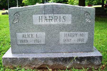 HARRIS, ALICE L. - Benton County, Arkansas | ALICE L. HARRIS - Arkansas Gravestone Photos