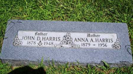 HARRIS, ANNA A. - Benton County, Arkansas | ANNA A. HARRIS - Arkansas Gravestone Photos