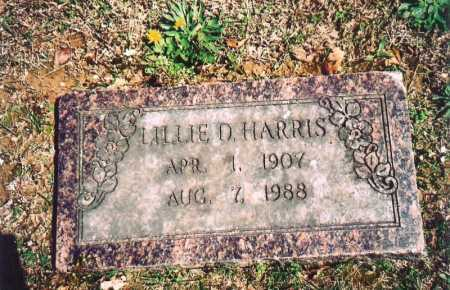 HARRIS, LILLIE DALE WOODCOCK  MCGARRAH - Benton County, Arkansas | LILLIE DALE WOODCOCK  MCGARRAH HARRIS - Arkansas Gravestone Photos