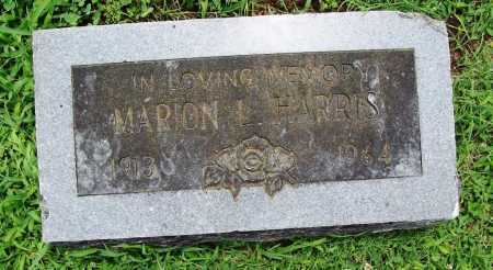 HARRIS, MARION L. - Benton County, Arkansas | MARION L. HARRIS - Arkansas Gravestone Photos