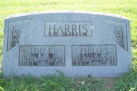 HARRIS, LOU E. - Benton County, Arkansas | LOU E. HARRIS - Arkansas Gravestone Photos