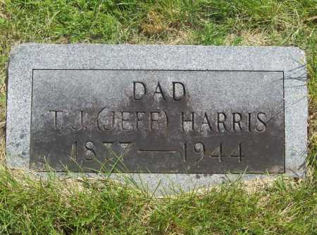 "HARRIS, T. J. ""JEFF"" - Benton County, Arkansas 