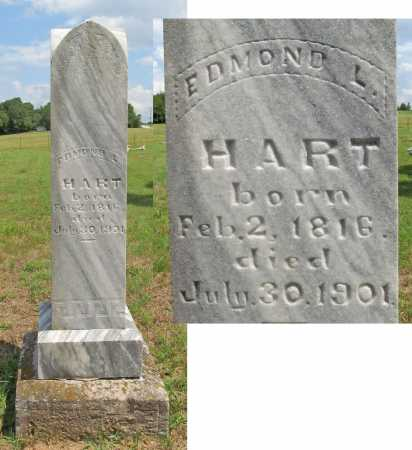 HART (VETERAN UNION), EDMOND  LAMBETH - Benton County, Arkansas | EDMOND  LAMBETH HART (VETERAN UNION) - Arkansas Gravestone Photos