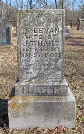 HART, POLEYAN - Benton County, Arkansas | POLEYAN HART - Arkansas Gravestone Photos