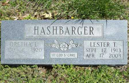 HASHBARGER, LESTER T. - Benton County, Arkansas | LESTER T. HASHBARGER - Arkansas Gravestone Photos