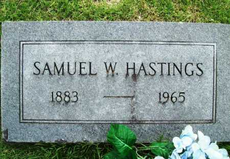HASTINGS, SAMUEL W. - Benton County, Arkansas | SAMUEL W. HASTINGS - Arkansas Gravestone Photos