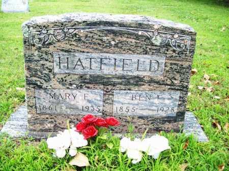 HATFIELD, MARY F. - Benton County, Arkansas | MARY F. HATFIELD - Arkansas Gravestone Photos