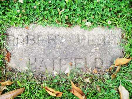 HATFIELD, ROBERT PERRY - Benton County, Arkansas | ROBERT PERRY HATFIELD - Arkansas Gravestone Photos