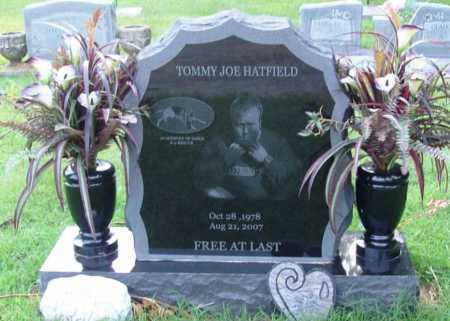 HATFIELD, TOMMY JOE - Benton County, Arkansas | TOMMY JOE HATFIELD - Arkansas Gravestone Photos