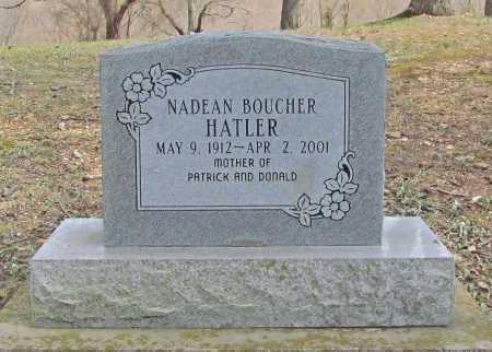 HATLER, NADEAN - Benton County, Arkansas | NADEAN HATLER - Arkansas Gravestone Photos
