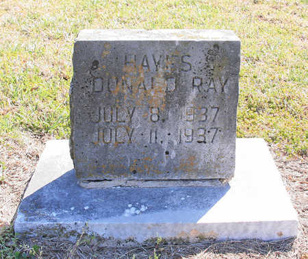 HAYES, DONALD RAY - Benton County, Arkansas | DONALD RAY HAYES - Arkansas Gravestone Photos