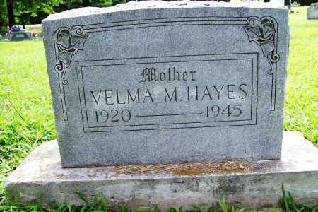 HAYES, VELMA M. - Benton County, Arkansas | VELMA M. HAYES - Arkansas Gravestone Photos