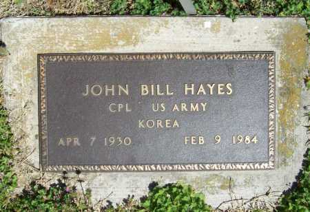 HAYES (VETERAN KOR), JOHN BILL - Benton County, Arkansas | JOHN BILL HAYES (VETERAN KOR) - Arkansas Gravestone Photos