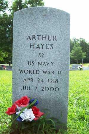 HAYES (VETERAN WWII), ARTHUR - Benton County, Arkansas | ARTHUR HAYES (VETERAN WWII) - Arkansas Gravestone Photos