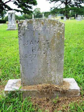"HAYS, JAMES P ""BUCK"" - Benton County, Arkansas 