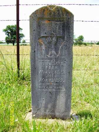 HAYS, THOMAS T. - Benton County, Arkansas | THOMAS T. HAYS - Arkansas Gravestone Photos
