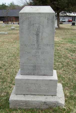 HAYS, WILLIAM G. - Benton County, Arkansas | WILLIAM G. HAYS - Arkansas Gravestone Photos