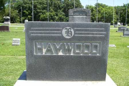 HAYWOOD, HEADSTONE - Benton County, Arkansas | HEADSTONE HAYWOOD - Arkansas Gravestone Photos