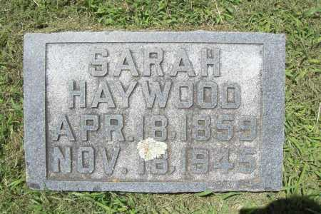 HAYWOOD, SARAH - Benton County, Arkansas | SARAH HAYWOOD - Arkansas Gravestone Photos