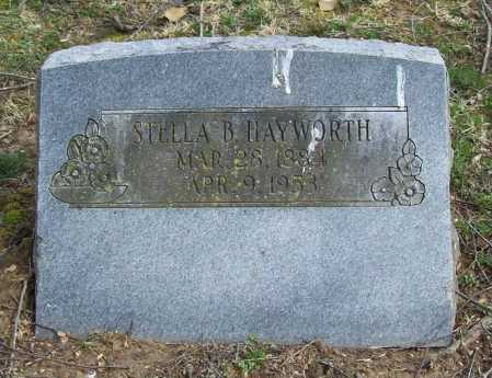HAYWORTH, STELLA B. - Benton County, Arkansas | STELLA B. HAYWORTH - Arkansas Gravestone Photos