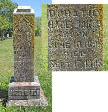 HAZELBAKER, DORATHY - Benton County, Arkansas | DORATHY HAZELBAKER - Arkansas Gravestone Photos