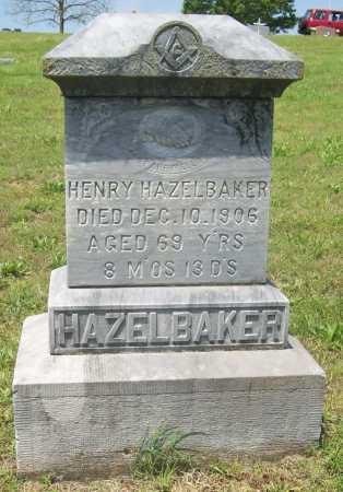 HAZELBAKER, HENRY - Benton County, Arkansas | HENRY HAZELBAKER - Arkansas Gravestone Photos