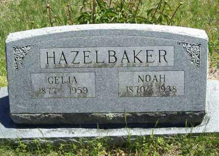HAZELBAKER, GELIA - Benton County, Arkansas | GELIA HAZELBAKER - Arkansas Gravestone Photos