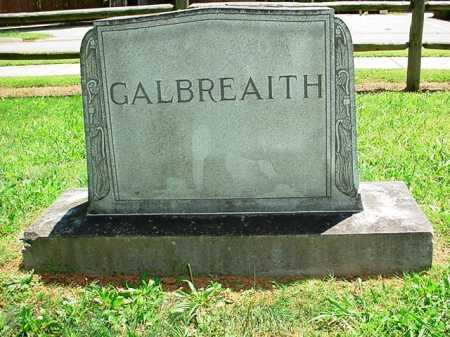 GALBREAITH HEADSTONE,  - Benton County, Arkansas |  GALBREAITH HEADSTONE - Arkansas Gravestone Photos