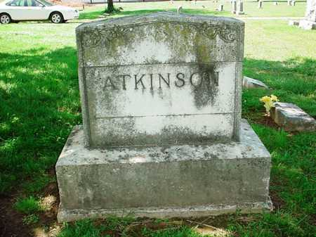 ATKINSON HEADSTONE,  - Benton County, Arkansas |  ATKINSON HEADSTONE - Arkansas Gravestone Photos